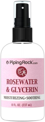 Woda różana i gliceryna 8 fl oz (237 mL) Butelka do spryskiwania