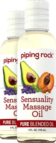 Sensuality Massage & Body Oil 2 x 4 fl oz (118 mL) Bottle