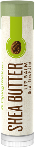 Balsam do ust z masłem shea 0.15 oz (4g) Tubka