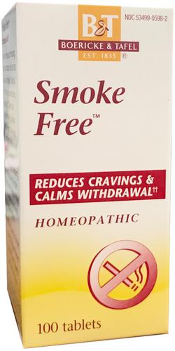 Smoke Free Homeopathic Formula, 100 Tablets