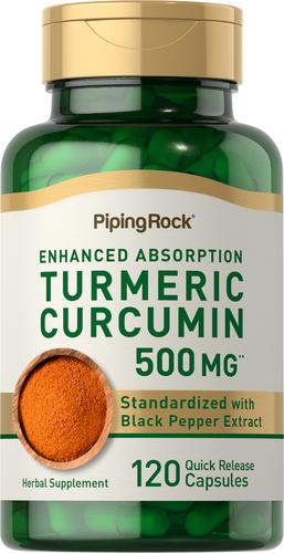 Turmeric Curcumin 500mg 120 Capsules