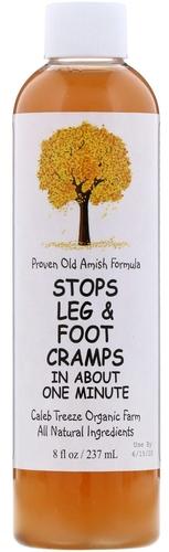 Prevenção de cãibras nas pernas e pés 8 fl oz (237 mL) Frasco