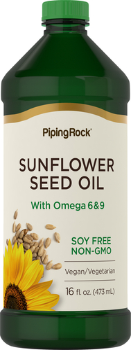 Sunflower Seed Oil 16 fl oz (473 mL) Bottle