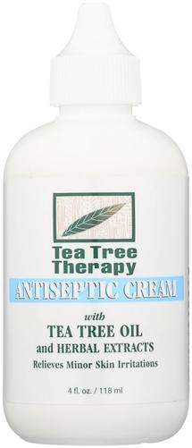 Tea Tree Antiseptic Cream 4 fl oz Bottle