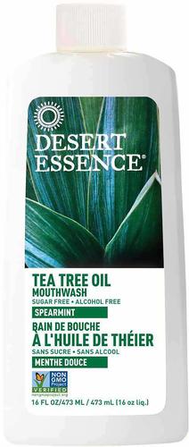Colluttorio alla menta piperita con olio dell'albero del tè 16 fl oz (473 mL) Bottiglia