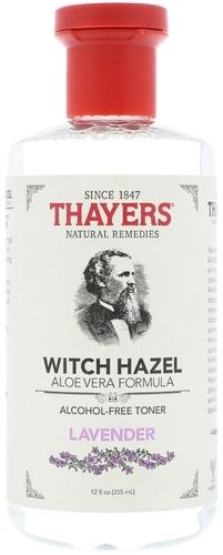 Lavender Thayers Witch Hazel dengan Pelembut Aloe Vera 12 fl oz (355 mL) Botol