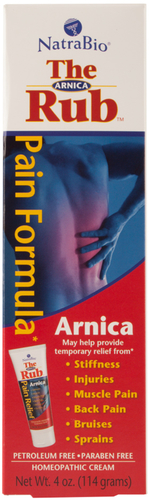 Crème d'arnica pour applications 4 oz (113 g) Tube