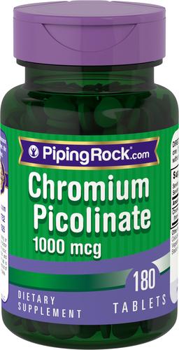 Ultra Picolinate de Chromium 180 Comprimés