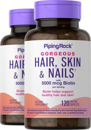 Cabelo, pele e unhas Ultra 120 Comprimidos oblongos revestidos
