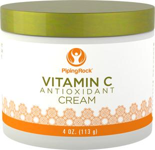 Crème rajeunissante à la vitamine C Anti-oxydante 4 oz (113 g) Bocal