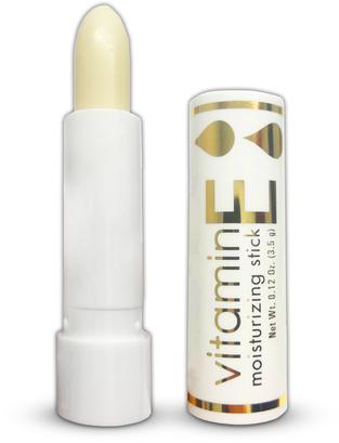 ビタミン E 保湿スティック 3.5 grams (0.1 oz) チューブ