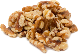Unsalted Walnuts (No Shell) 1 lb (454 g) Bag