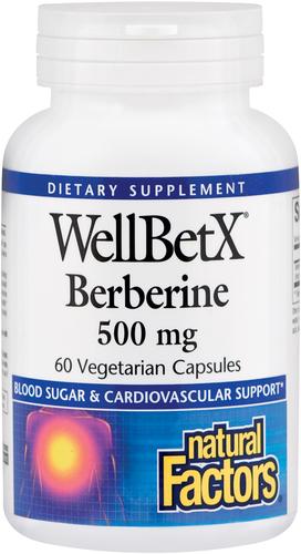 Berberyna WellBetX 60 Kapsułki wegetariańskie