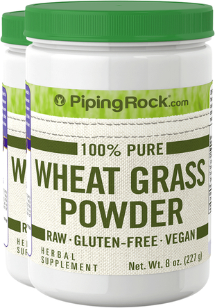 Wheat Grass Powder 2 Bottles x 8 oz (227 g)