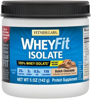 Białko serwatkowe WheyFit Izolat (czekolada holenderska) (próbka) 5 oz (142 g) size_units.unit.118