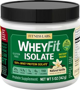 Izolat białka serwatkowego WheyFit (naturalny, wanilia) (próbka) 5 oz (142 g) size_units.unit.118