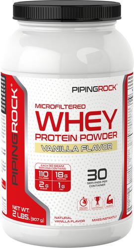 Białko serwatkowe w proszku (naturalny waniliowy) 2 lbs (907 g) size_units.unit.118