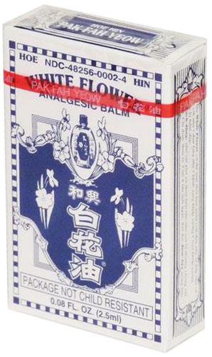 Witte bloemolie (pijnstillende balsem) 0.67 fl oz (20 mL) Fles