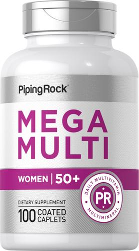 Mega multi voor vrouwen 50 plus 100 Gecoate capletten