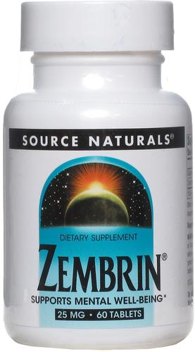Зембрин - успокоительный препарат на основе растения скелетиум скрученный 60 Таблетки