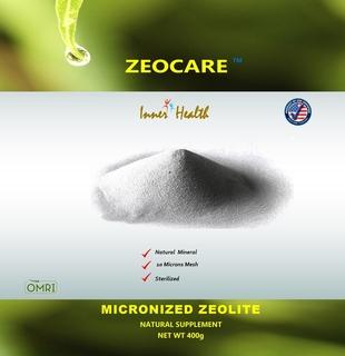 Mikronizowany zeolit 400 g (14.11 oz) Torebka