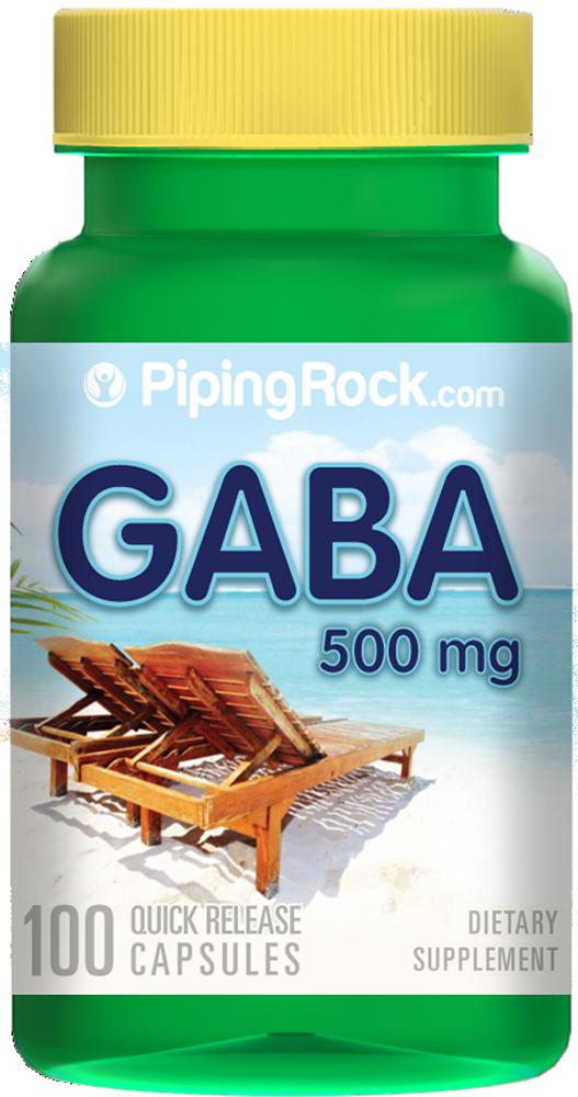 Taking gaba