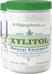 Xylitol Pure Sweetener 2 Bottles x 20 oz (568 g)