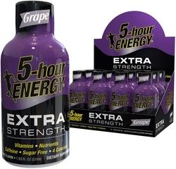 5-Hour Energy Extra Strength (Grape), 12 Pack