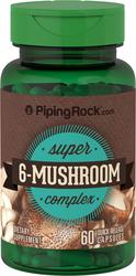 Triple complexe d'extrait de champignon 60 Gélules à libération rapide