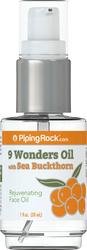 9 ワンダー オイル 1 fl oz (30 ml) ポンプ式ボトル