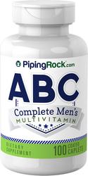 ABCメンズ完全マルチビタミン 100 コーティング カプレット