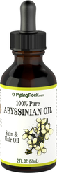 Abyssinian Seed Oil 100% Pure 2 fl oz (59 ml) Dropper Bottle