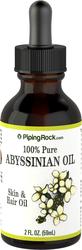 Huile d'Abyssinie 100% pure 2 fl oz (59 mL) Compte-gouttes en verre