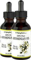 Abyssinsk olje 100 % ren 2 fl oz (59 mL) Pipetteflaske