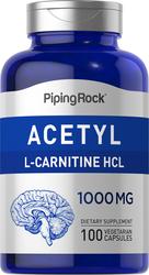 Ασετυλική L-καρνιτίνη  100 Κάψουλες χορτοφαγίας