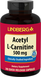 Acetyl L-Carnitine, 500 mg, 240 Capsules