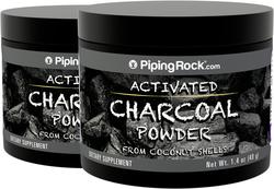 Polvere attiva di carbone (Commestibile) 1.4 oz (40 g) Bottiglia