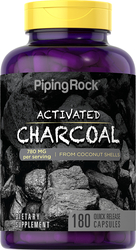 Activated Charcoal from Coconut, 780 mg (per serving), 180 Capsules