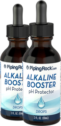 Alkaline Booster pH Protector Drops, 2 fl oz (59 mL) Dropper Bottle x 2 Bottles