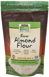 Almond Flour Raw, 10 oz (284 g) Bag