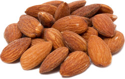 Almonds Roasted & Salted 1 lb Bag