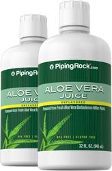 Aloe Vera Juice 32 fl oz (946 mL) x 2 Bottles
