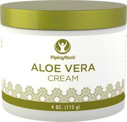 Crème hydratante d'Aloe Vera 4 oz (113 g) Bocal