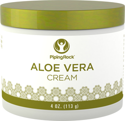 Aloë Vera vochtinbrengende crème 4 oz (113 g) Pot