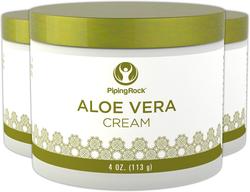 Crema hidratante de aloe vera 4 oz (113 g) Tarro