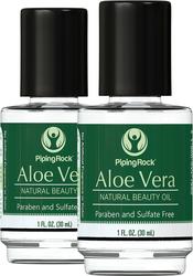 Aceite de aloe vera 100% puro - Aceite de belleza 1 fl oz (30 mL) Botellas/Frascos