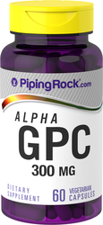 GPC Alpha Supplement 300 mg 60 Capsules