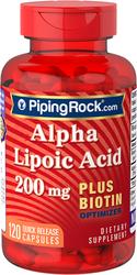 Acide Alpha Lipoique plus optimiseur de biotine 120 Gélules à libération rapide