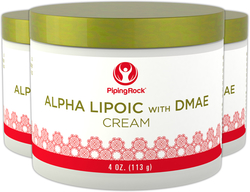 アルファ リポ、DMAE クリーム配合 4 oz (113 g) ビン