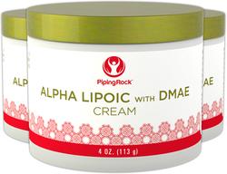 Alpha Lipoic with DMAE Cream 3 Jars x 4 oz